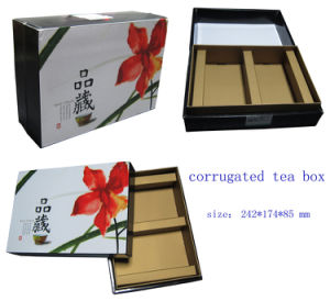 Corrugated Paper Box for Tea Packaging pictures & photos