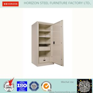 Steel Safe with Fileproof and 2 Retractable Doors Filing Cabinet