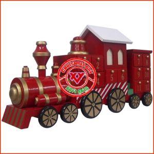 Wooden Advent Calendar Train