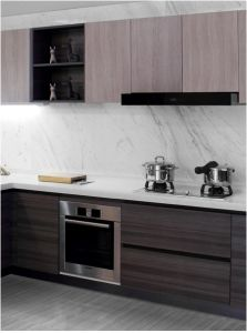 Customized & Projet Melamine Kitchen Furniture (zg-034) pictures & photos