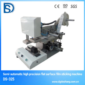 Ds-323f Laptop Tablet Mobile Phone Screen Protector Manufacturing Machine with Auto Labeling