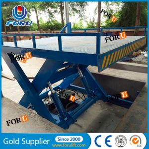China industrial fixed hydraulic scissor cargo lift for for Fixed price house build