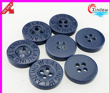 Plastic Resin Letter Buttons Factory Garment Accessories pictures & photos