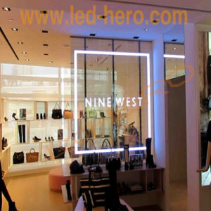 P31.25 Transparent LED Display Glass Screen Wall Hollow Design