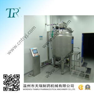 Pharmaceutical Stainless Steel Mixing Tank (hot water jacket)