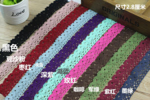 Wholesale More Color Cotton Lace for Garment pictures & photos