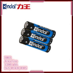 Lr03 Cell Alkaline Battery Factory Dry Battery Manufacture pictures & photos