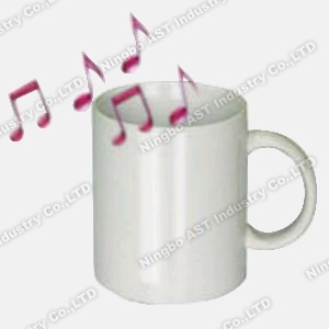 Recordable Mug, Promotional Mug, Ceramic Mug, Music Mug (S-4704) pictures & photos
