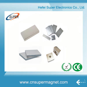 Hottest Sale N45 Neodymium Motor Block Magnets pictures & photos