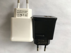 EU 2.1A Dual USB Travel Charger for Samsung