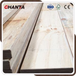 Construction Usage LVL Scaffolding Board with Radiate Pine Timber pictures & photos
