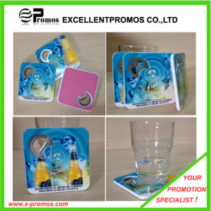 New Style PS Coaster with Bottle Opener (EP-C65511) pictures & photos