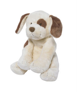 China White Dog Plush Toy Stuffed Plush Dog Toys Kids Dog Toy