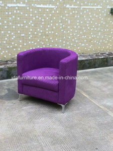 Modern Fabric Relax Cafe Chair
