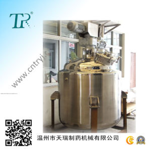 Steam Electric Heat Stainless Steel Mixing Tank