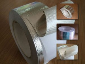 Boat Ship Thermal Insulation Aluminum Foil Fiberglass Adhesive Tape pictures & photos