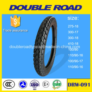 China Factory Direct 100/90-17 6pr Motorcycle Tyre pictures & photos