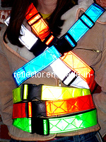 2 Inch Reflective Waist Belt pictures & photos