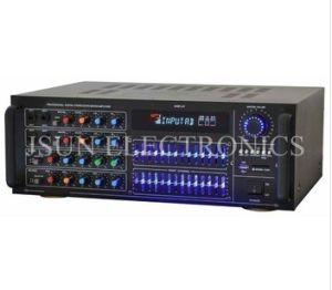 Digital Power Amplifier with USB/SD/FM/EQ and Remote Control