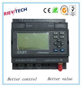 GSM/SMS/GPRS PLC, Ideal Solution for Remote Control& Monitoring &Alarming Applications (EXM-6DC-PT100-R-HMI) pictures & photos