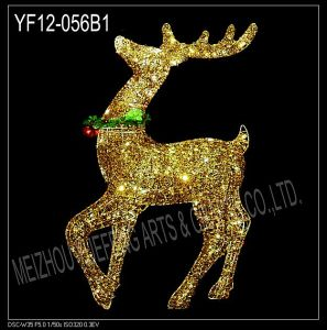 Cotton Thread Reindeer (YF-012-071B)