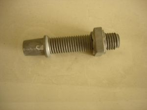Custom Al Die Casting, Aluminum Alloy Casting Screw pictures & photos
