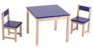 Wooden Table and Chair Children Study Table and Chair (M-X1074) pictures & photos