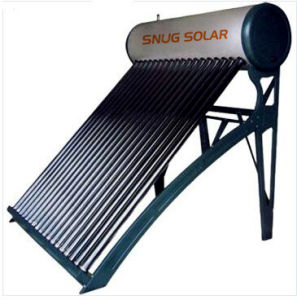 2016 New 200 L Color Steel Non Pressure Solar Water Heater System with Cheap Price pictures & photos