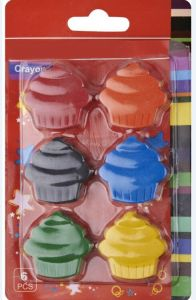 Cake Shaped Crayon Set for Children Drawing /Painting pictures & photos