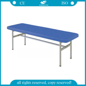 (AG-ECC04) Ce&ISO Blue Stainless Steel Patient Examination Bed pictures & photos