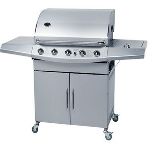 Stainless Steel Gas BBQ with 5 Burners (CE approved) pictures & photos