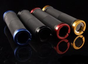 Bicycle Handlebar Sleeve Bicycle Parts Aluminum Alloy+TPR Bicycle Handlebar Sleeve