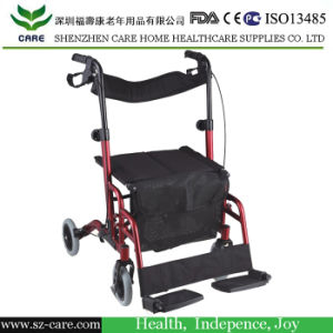 Height Adjustable Frame&Handles Aluminium Rollator