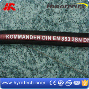 Two Wire Braid Hydraulic Hose DIN En 853 2sn pictures & photos