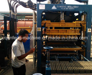 Paver Making Equipment-Qft10 Brick Making Machine pictures & photos