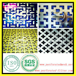 1mm Stainless Steel Perforated Sheet