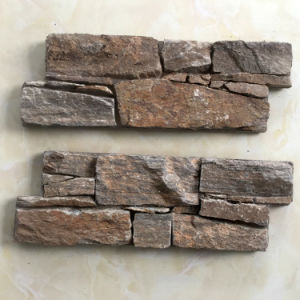 Natural Decorative Exterior Slate Stacked Stone Covering (SMC-CC166) pictures & photos