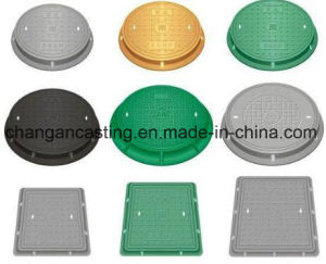 OEM Sand Casting Iron Manhole Parts with Painting