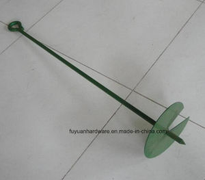 Powder Coated and Galvanized Earth Auger/Earth Anchor pictures & photos