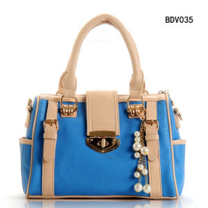 2014 New Han Edition Handbag, Bucket Shape Fashion Ladies Bag (BDV035) pictures & photos