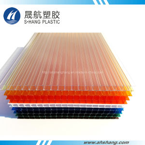 China Colored Polycarbonate Roofing Sheet for Agriculture Greenhouse ...