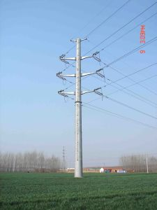 330kv Monopole Tower pictures & photos