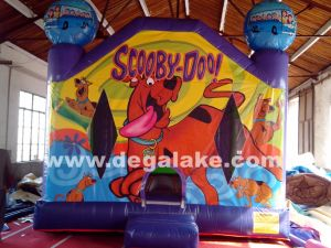 Inflatable Scooby Dog Bounce House for Amusement