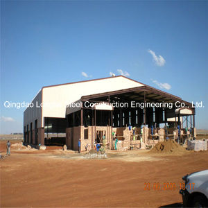 Fast Construction Steel Structure Flat Roof Prefab Building pictures & photos
