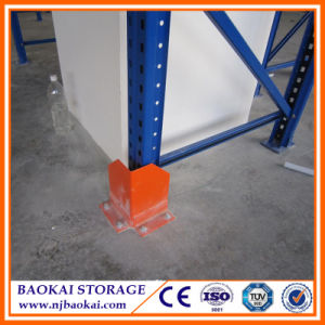 Warehouse Rack Upright Steel Protectors