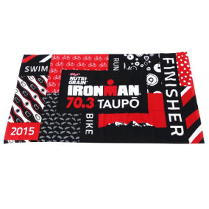Ironman 100% Cotton Full Size Reactive Printed Beach Towel pictures & photos