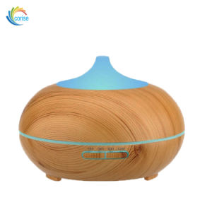 Newest 300ml Ultrasonic Electric Wood Grain Aroma Diffuser