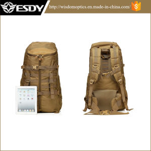 2017 Large Capacity Hiking Bags Outdoor Tactical Traveling Backpack Tan pictures & photos