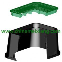 "6′′ 10′′ 12′′ 14"" Plastic Gardens Valve Box Plastic Irrigation Control Valve Box (MX9303) pictures & photos"
