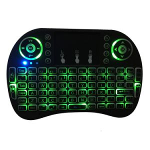 Hot Selling I8 2.4GHz Wireless Mini Keyboard Air Mouse with Backlight